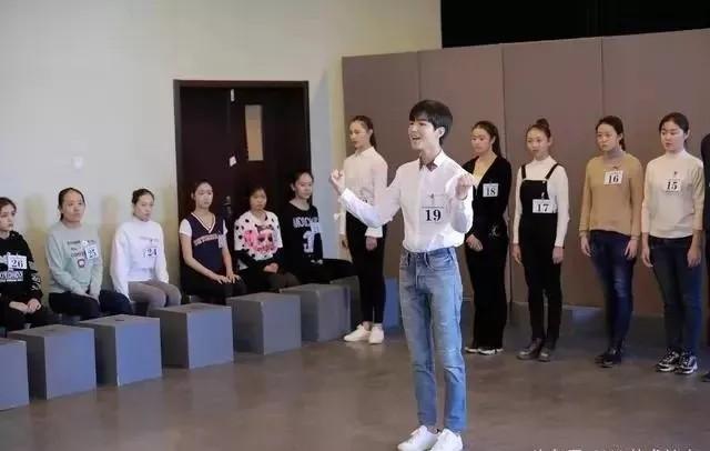 王俊凯艺考现场