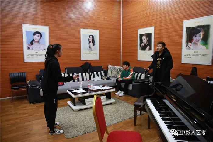中影人表演培训声乐课堂