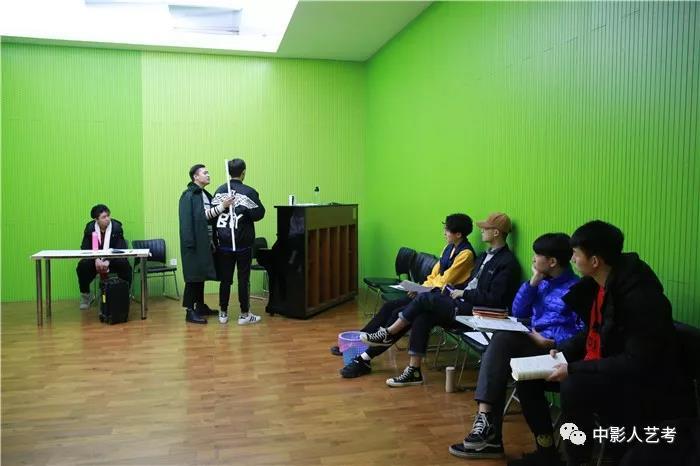 中影人表演培训学校训练课堂